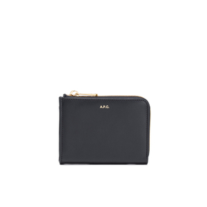 A.P.C. Men's Porte Monnaie Julian Wallet - Dark Navy