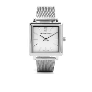 Larsson & Jennings Norse 34mm Milanese Strap Watch - Silver