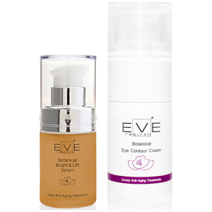 Антивозрастная сыворотка Eve Rebirth Botanical Bright & Lift Serum и крем Eve Rebirth Botanical Eye Contour Cream