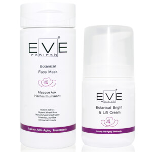 Eve Rebirth Botanical Face Mask + Botanical Bright & Lift Cream