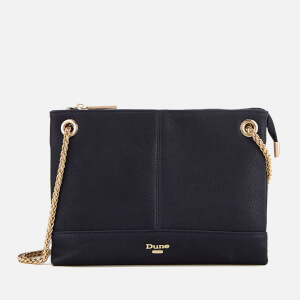 Dune Women's Eholly Triple Compartment Cross Body Bag - Navy