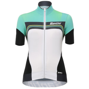 Santini Women's Queen of the Mountains Jersey - Green
