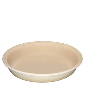 Le Creuset Stoneware Pie Dish 24cm - Almond