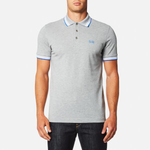 BOSS Green Men's Paddy Polo Shirt - Silver