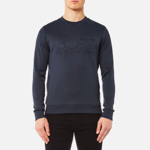 BOSS Green Men's Salbo Sweatshirt - Blue