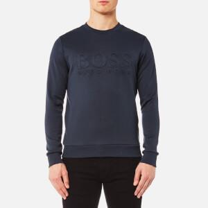 BOSS Green Men's Salbo Sweatshirt - Blue