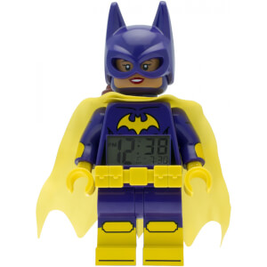 THE LEGO® BATMAN MOVIE Batgirl™ Minifiguren-Uhr mit Wecker