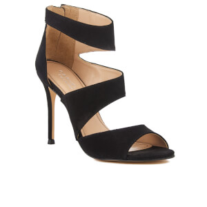 Carvela Women's Gene Suede Triple Strap Heeled Sandals - Black: Image 2