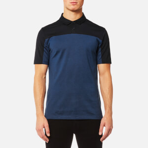 HUGO Men's Domfort Colour Block Polo Shirt - Navy