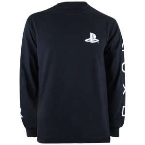 PlayStation Men's I Am A Player Long Sleeve T-Shirt - Black