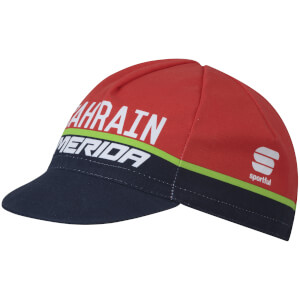 Sportful Bahrain Merida BodyFit Pro Cap - Red/Blue