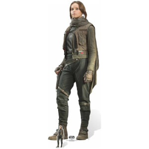 Silhouette Découpée en Carton Rogue One Jyn Erso (Felicity Jones)