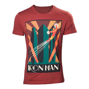 Marvel Men's Iron Man T-Shirt - Red
