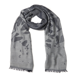 McQ Alexander McQueen Women's Swallow Scarf - Navy/Light Grey