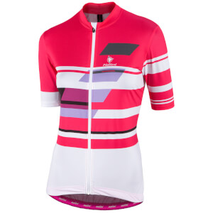 Nalini Women's Dolomiti Short Sleeve Jersey - Red/White