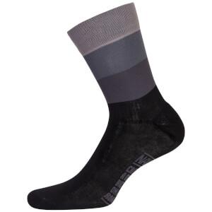 Nalini Blue Socks H19 - Black/Grey