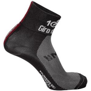 Santini Giro d'Italia 2017 Stage 16 Rovetta - Bormio Coolmax Socks - Dark Red