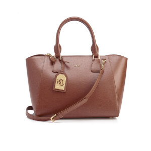 Ralph Lauren Women's Stefanie II Satchel - Lauren Tan