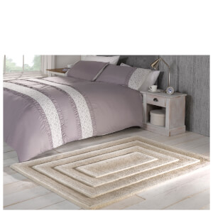 Flair Textures Temple Rug - Beige