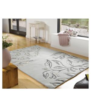 Flair Textures Florali Rug - Slate