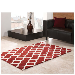 Flair Moorish Fes Rug - Red