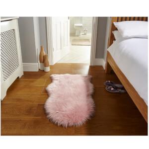 Flair Faux Fur Rug - Sheepskin Pink (60X90)