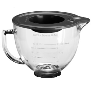 KitchenAid 5K5GB Glass Bowl with Lid 4.8L