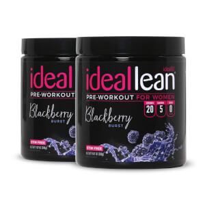 IdealLean Stim-Free Pre-Workout 40 Servings