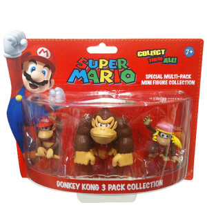 Super Mario Donkey Kong Figure Collection
