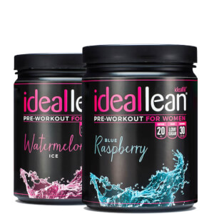 IdeaLean Pre-Workout - Pack de 2