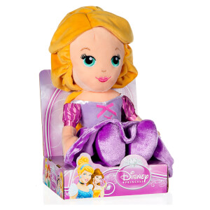 Disney Princess Cute Rapunzel Plush Doll - 10