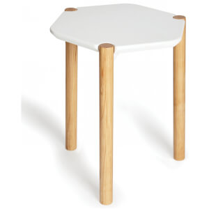 Umbra Lexy Side Table - White Natural