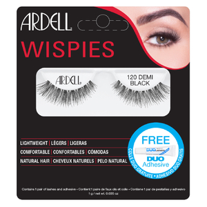 Ardell Demi Wispies False Eyelashes -irtoripset, 120 Black