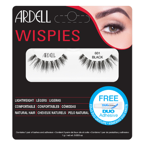 Pestanas Falsas Wispies Clusters da Ardell - 601 Black