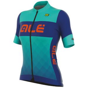 Alé Women's R-EV1 Rumbles Jersey - Turquoise