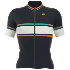 Alé PRR 2.0 Speed Fondo Jersey - Blue/Orange