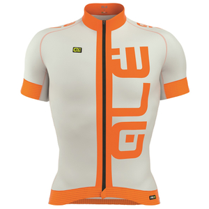 Alé PRR 2.0 Arcobaleno Jersey - Grey/Orange