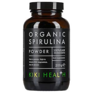 Spirulina Biológica em Pó da KIKI Health 200 g