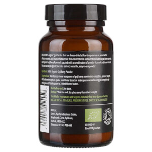 KIKI Health Organic Goji Berry Powder 70g: Image 2