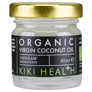 KIKI Health Organic Raw Virgin Coconut Oil olej kokosowy 40 ml