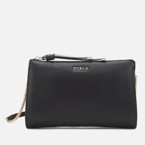 Furla Women's Luna Xl Cross Body Bag Pouch - Black