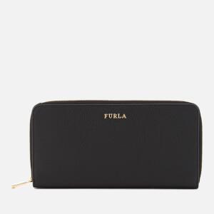 Furla Women's Babylon XL Zip Around Bag - Black
