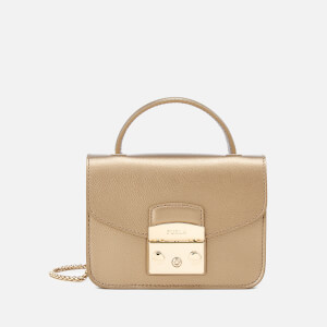 Furla Women's Metropolis Mini Top Handle Bag - Bronze