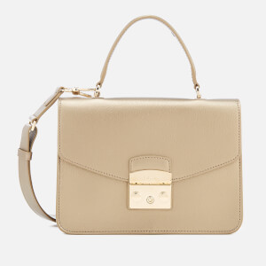 Furla Women's Metropolis Small Top Handle Bag - Bronze