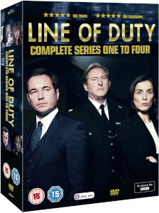 Line of Duty - Series 1-4 Boxed Set