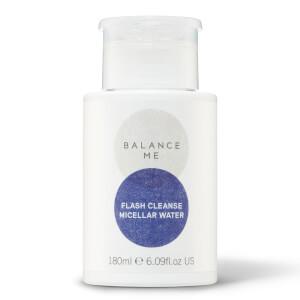 Agua micelar Flash Cleanse de Balance Me 180 ml