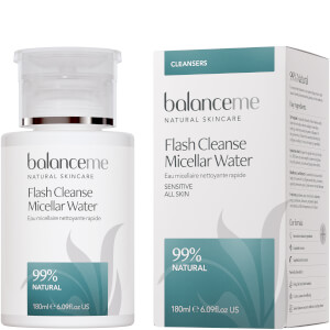 Agua micelar Flash Cleanse de Balance Me 180 ml