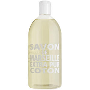 Compagnie de Provence Liquid Marseille Soap 1l Refill - Cotton Flower