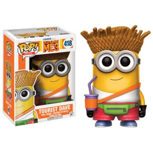 Despicable Me 3 Dave Tourist Pop! Vinyl Figure