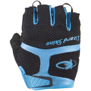 Lizard Skins Aramus GC Gloves - Jet Black/Elecrtic Blue